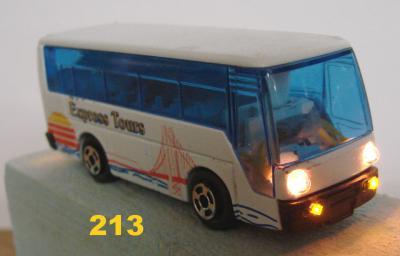 Modellauto,  blauesModellauto Minibus, ca. 1:100, beleuchtet      amerikanisches Cabriolet, 1:87