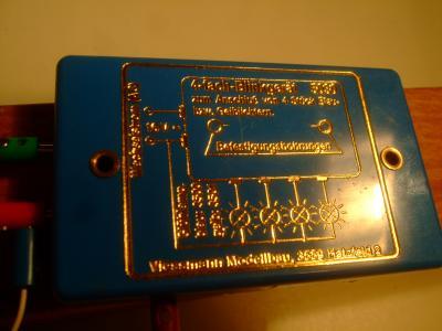 Blinkautomatik 4-fach für 12-16V