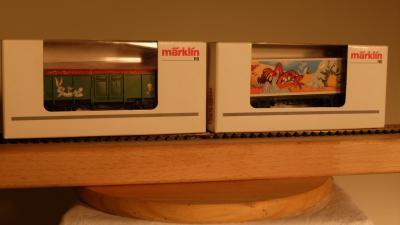 Märklin Jahreswagen 1.FC 2003 + 2005