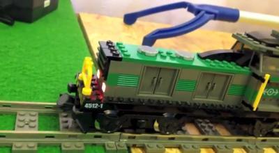 ESU eingebautes Licht in LEGO Eisenbahn