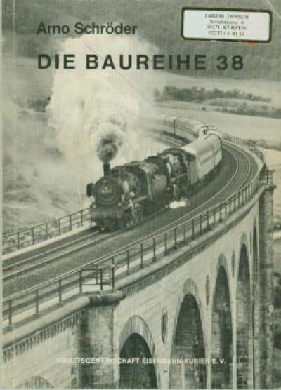 Die Baureihe 38 (JJ2)
