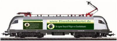 Werbe - Lok Eisenbahnkartei  / AC  Wechselstrom