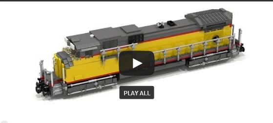 LEGO® Train Werbung