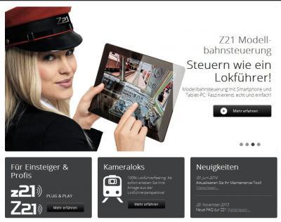 Z21 Modellbahnsteuerung Fleischmann